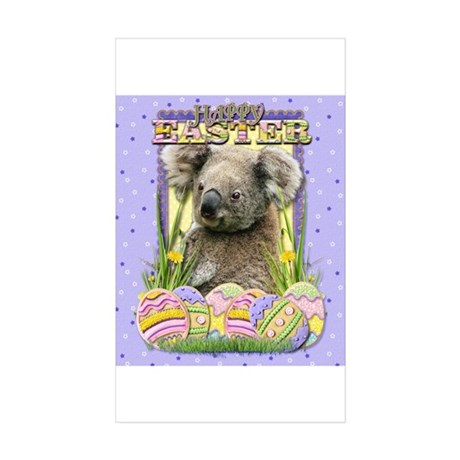 Easter Egg Cookies - Koala Sticker (Rectangle 50 p