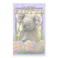Easter Egg Cookies - Koala Decal