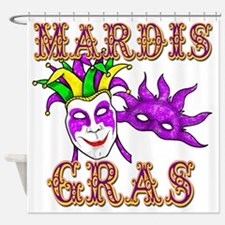Mardis Gras Shower Curtain