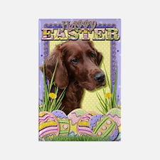 Easter Egg Cookies - Irish Setter Rectangle Magnet