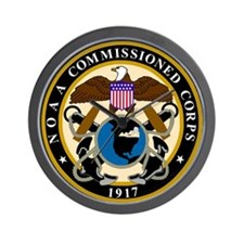 NOAA Commissioned Officer Corps<BR>Clock