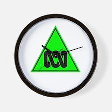 The ABC of Bias (black, no te Wall Clock