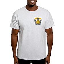 NOAA Officer Corps<BR> Grey T-Shirt 1