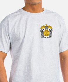 NOAA Officer Corps<BR> Grey T-Shirt 1