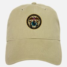 NOAA Commissioned Officer Corps<BR> Khaki Baseball Baseball Cap 1