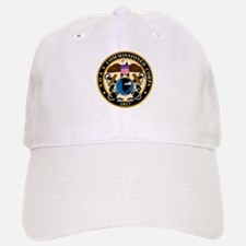 NOAA Commissioned Officer Corps<BR> White Baseball Baseball Cap 1