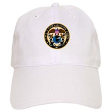 NOAA Commissioned Officer Corps<BR> White Baseball Cap 1