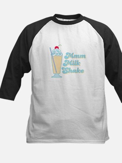 Vanilla Milkshake Kids Baseball Jersey