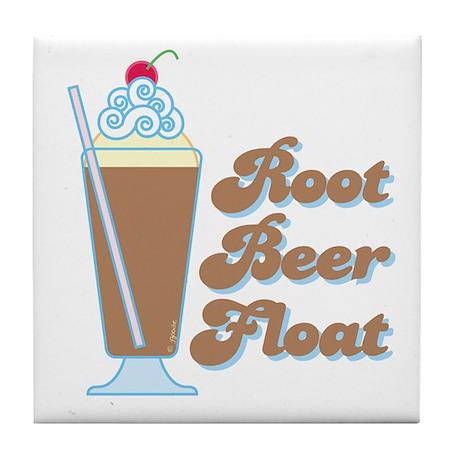 Rootbeer Float Tile Coaster