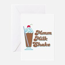 Chocolate Milkshake Greeting Cards (Pk of 10)