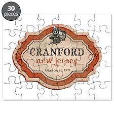 Cranford Logo with Train Puzzle