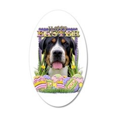 Easter Egg Cookies - Swissie 38.5 x 24.5 Oval Wall