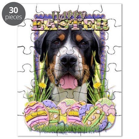 Easter Egg Cookies - Swissie Puzzle