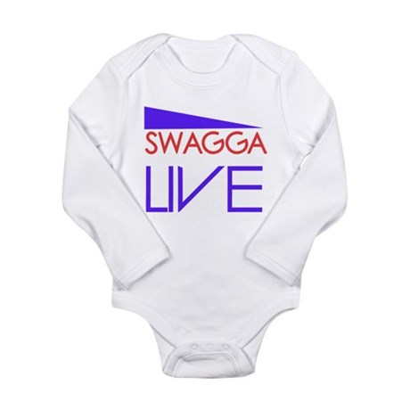 SWAGGA LIVE Long Sleeve Infant Bodysuit