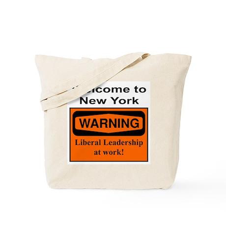Warning: NY Leadership Tote Bag