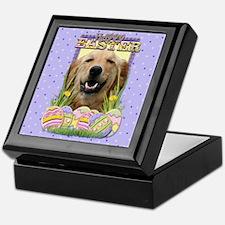 Easter Egg Cookies - Golden Keepsake Box