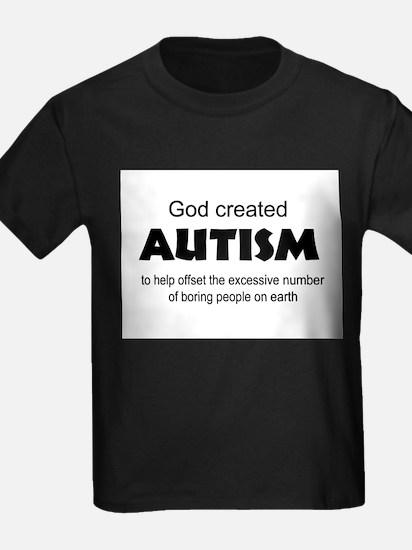 Autism offsets boredom T-Shirt