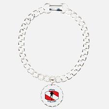 Certified Scuba Diver Charm Bracelet, One Charm