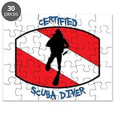 Certified Scuba Diver Puzzle