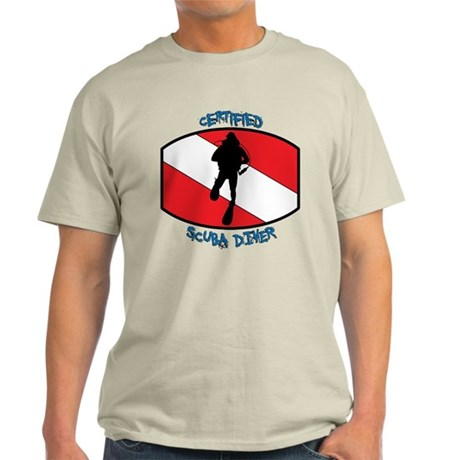 Certified Scuba Diver Light T-Shirt