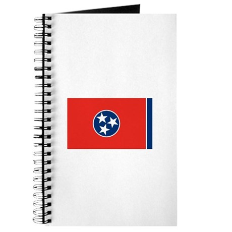 Tennessee State Flag Notebook