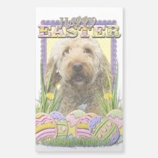 Easter Egg Cookies - GoldenDoodle Decal