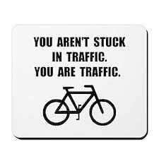 Bike Traffic Mousepad