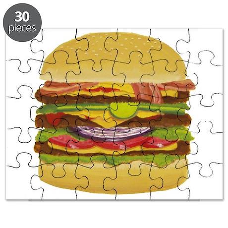 Cheeseburger king Puzzle