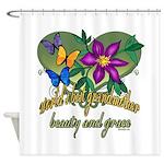 Beautiful Grandmother Shower Curtain
