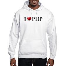 I Love PHP Hoodie