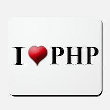 I Love PHP Mousepad