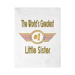 Number 1 Little Sister Twin Duvet