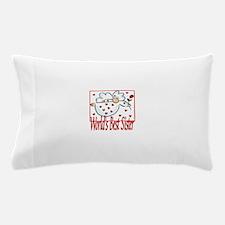 World's Best Sister Pillow Case