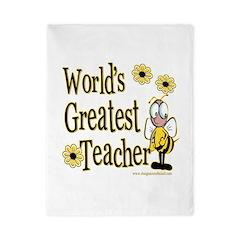 Teacher Bumble Bee Twin Duvet