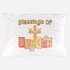 Easter Religion Blessings Pillow Case