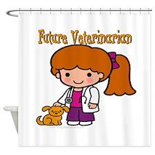 Future Veterinarian Shower Curtain
