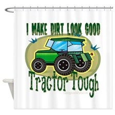 Tractor Tough Shower Curtain