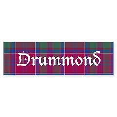 Tartan - Drummond Sticker (Bumper 50 pk)