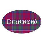 Tartan - Drummond Sticker (Oval)
