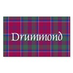 Tartan - Drummond Sticker (Rectangle 10 pk)