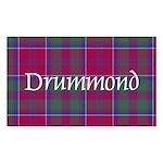 Tartan - Drummond Sticker (Rectangle 50 pk)