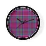 Tartan - Drummond Wall Clock