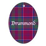 Tartan - Drummond Ornament (Oval)