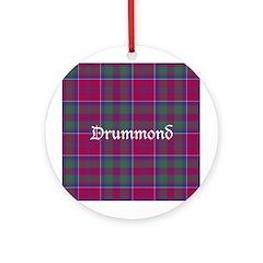 Tartan - Drummond Ornament (Round)