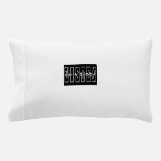 Listen Pillow Case