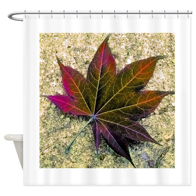 Autumn Leaves Shower Curtain By Outofmind