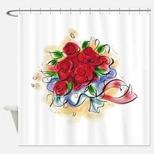 Bright Florals Shower Curtain