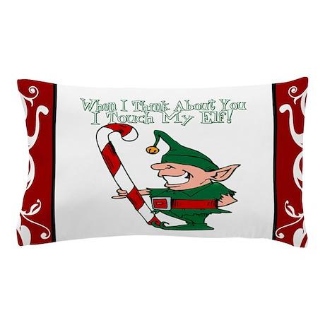 Naughty Elf Pillow Case