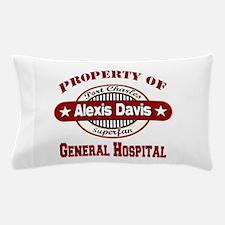 Property of Alexis Davis Pillow Case