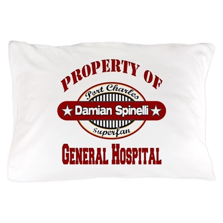 Property of Damian Spinelli Pillow Case